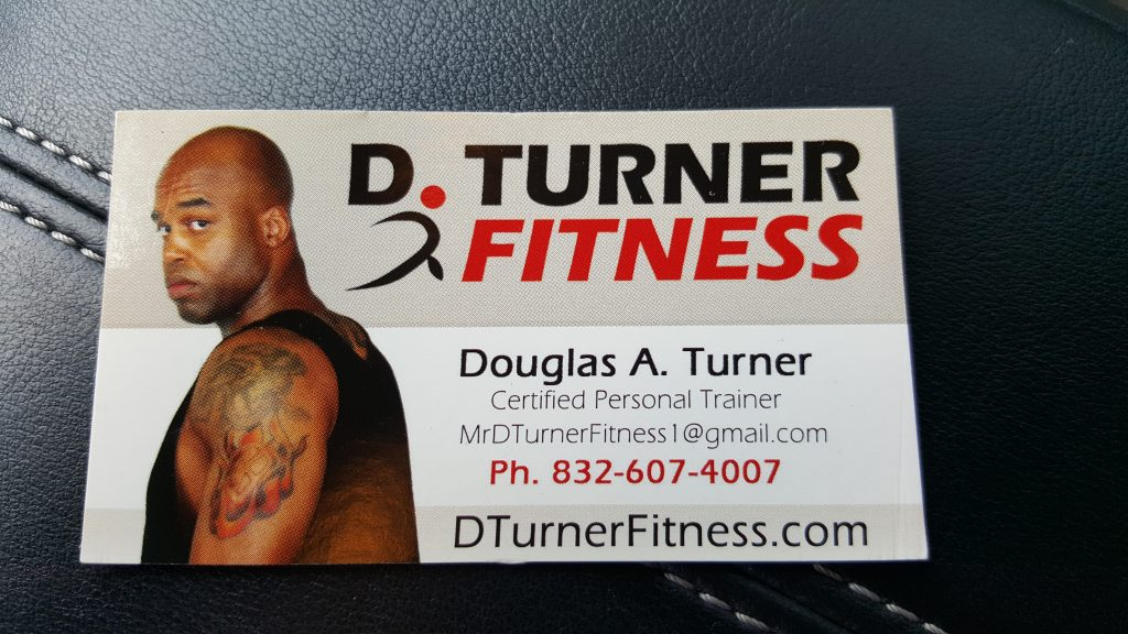 Personal Trainer Houston, Texas - Douglas Turner