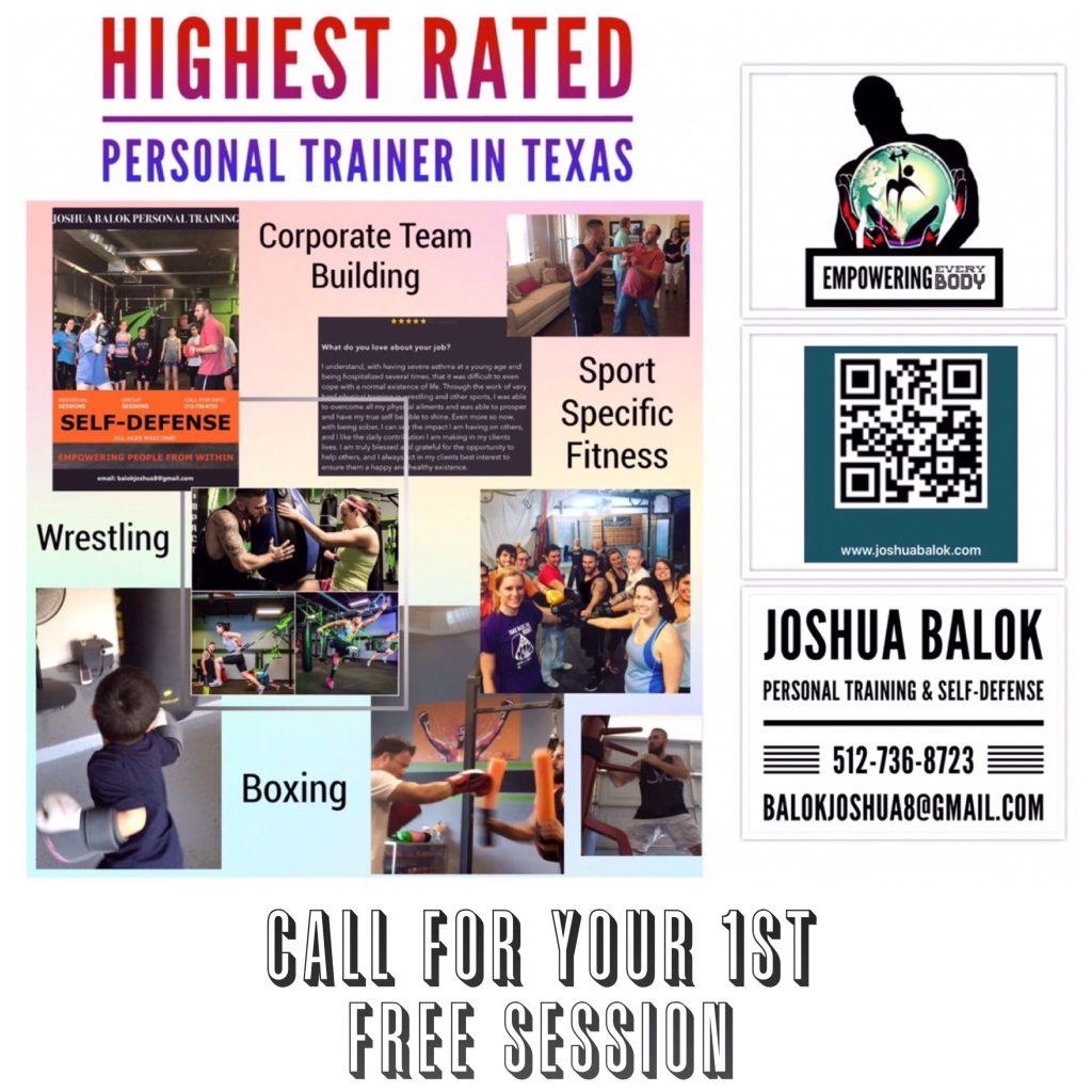 Personal Trainer Austin, Texas - Joshua Balok