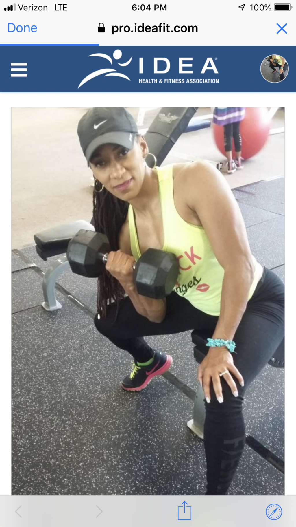 Personal Trainer Chicago, Illinois - Marria Darden