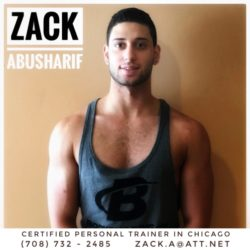 Personal Trainer Chicago - Zack Abusharif
