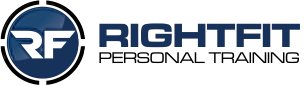 RightFit Personal Training logo-retina-blue