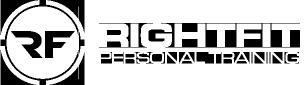 RightFit Personal Training logo-retina-white